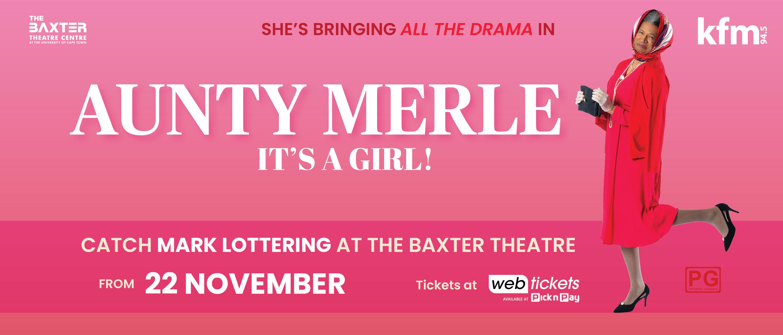Aunty Merle, It's a Girl!
