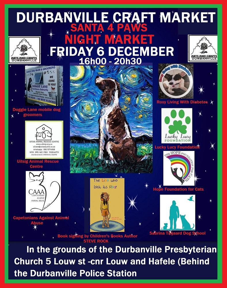 Durbanville Pet and Craft Market- Night Market