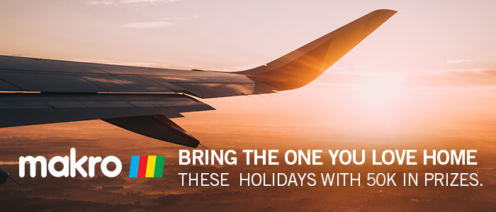 BRING THE ONE YOU LOVE HOME THESE HOLIDAYS WITH 50K IN PRIZES
