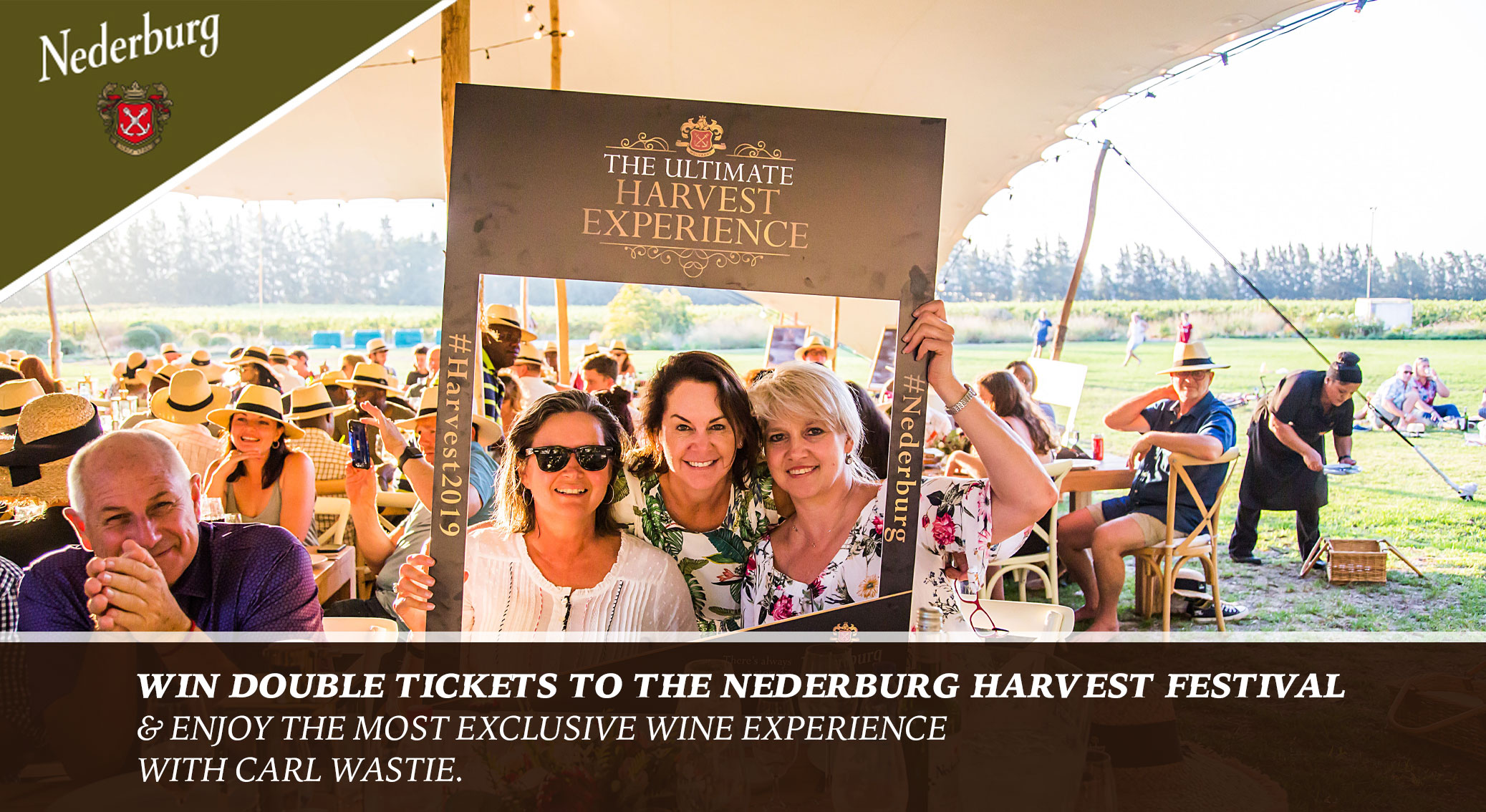 WIN an exclusive wine experience at the Nederburg Harvest Festival