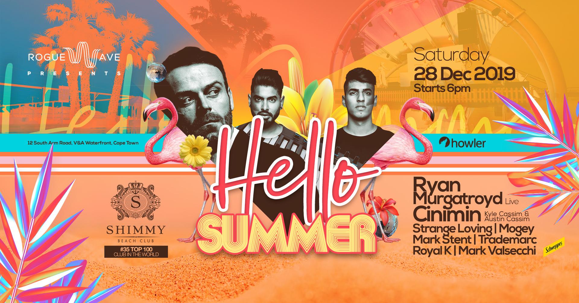 Hello Summer at Shimmy Beach Club
