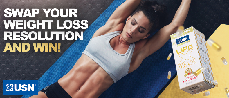 Swap your weight loss resolution and win with USN!