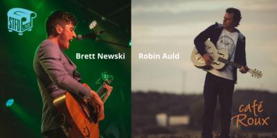 Robin Auld Music and Brett Newski (USA)