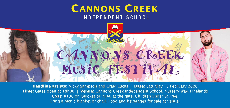 Cannons Creek Music Festival