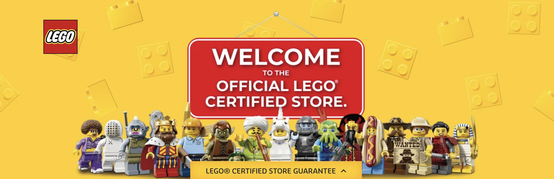 LEGO CERTIFIED STORE FRESH DEEDS