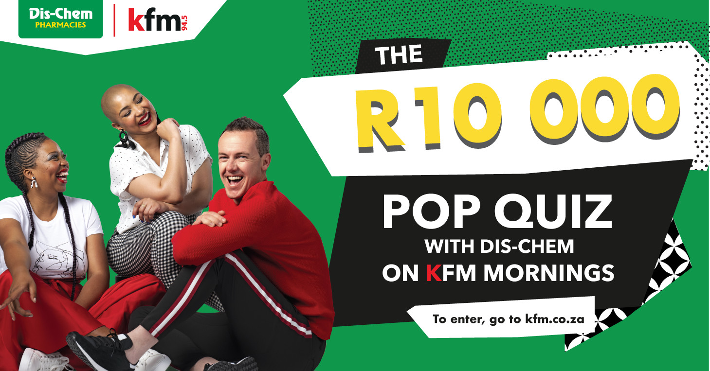 Can you ace the R10 000 Pop Quiz on Kfm 94.5?