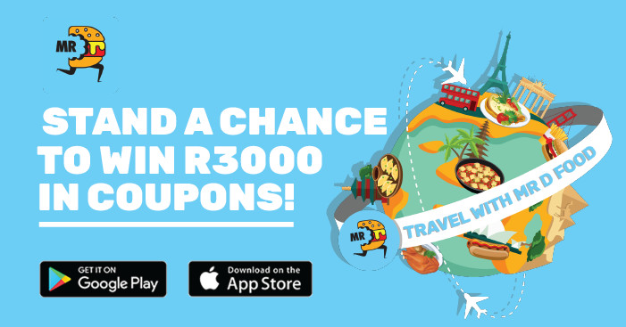 Win R3000 in Mr D Food coupons, courtesy of Kfm 94.5 and Mr D Food