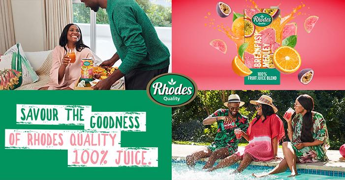 Win with Kfm 94.5 & Rhodes Quality 100% Fruit Juice!
