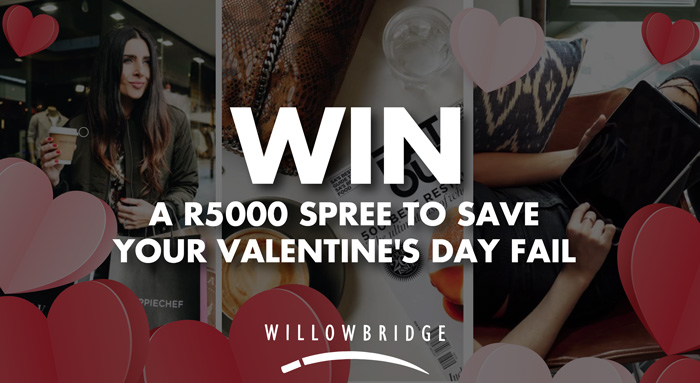 Win 1 of 5 R 5000 Willowbridge Shopping Centre Gift Vouchers of your choice