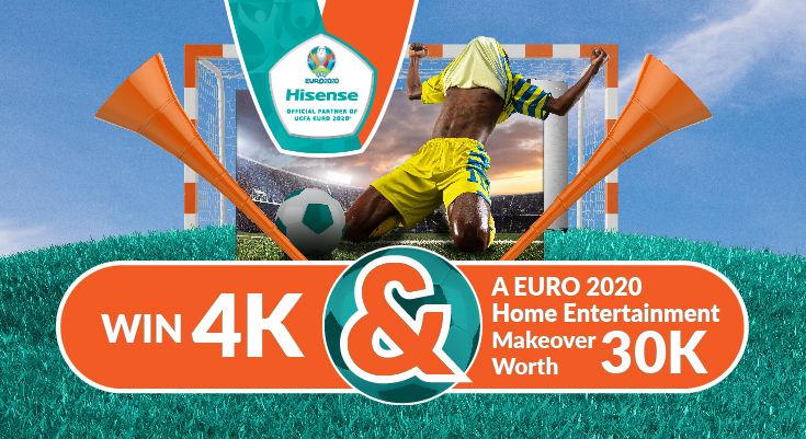 WIN R4 000 & A EURO 2020 HOME ENTERTAINMENT MAKEOVER WORTH R30000 on Kfm 94.5
