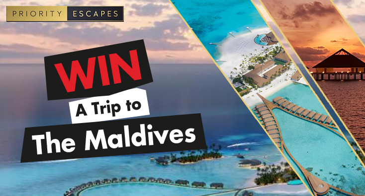 WIN THE ULTIMATE MALDIVES GETAWAY WITH PRIORITY ESCAPES AND KFM 94.5