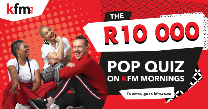 Prove your mettle with the R10 000 Pop Quiz