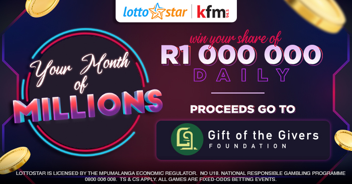 Get ready for Your Month of Millions with Lottostar