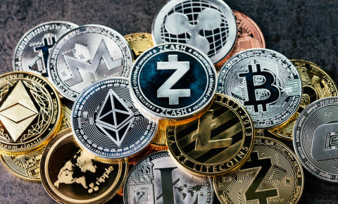 Cryptocurrencies Bitcoin Ethereum Litecoin  zcash ripple 123rfBusiness 123rf