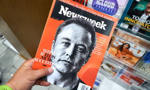 Elon Musk on the cover of Newsweek 123rfbusiness 123rf 123rflifestyle