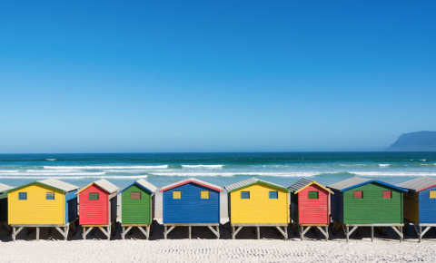 Muizenberg Beach Cape Town safety 123rflifestyle 123rflocal 123rf