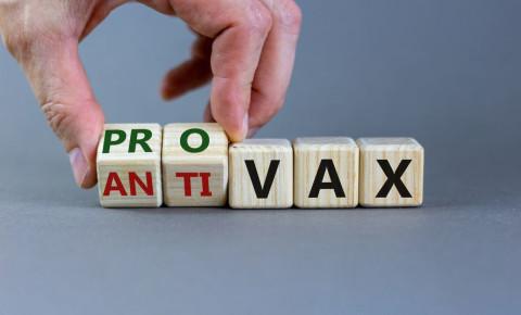 pro anti vax vaxxer vaccine 123rf