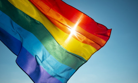 queer gay flag trans lesbian intersex transgender sexuality LGBTI flag 123rf