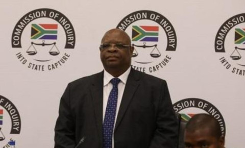 Deputy Chief Justice Raymond Zondo at the state capture inquiry