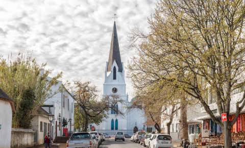 Stellenbosch Church Street Dutch Reformed Mother Church 123rf