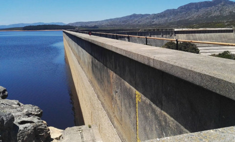 Steenbras Dam image: EWN