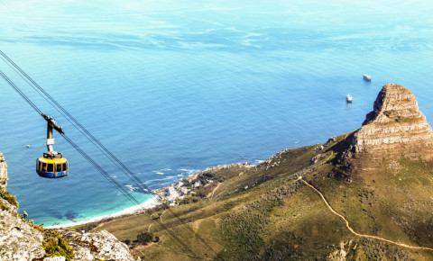 Table Mountain Aerial Cableway Cape Town 123rflocal 123rf