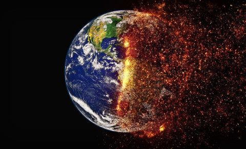 Climate change carbon dioxide earth