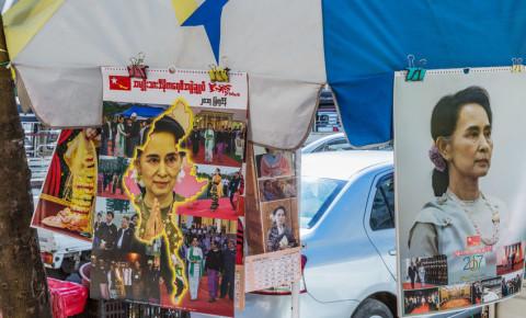 Aung San Suu Myanmar 123rfpolitics 123rf