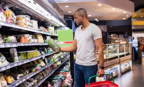 Man shopping vegetables groceries supermarket 123rfbusiness 123rflifestyle 123rf