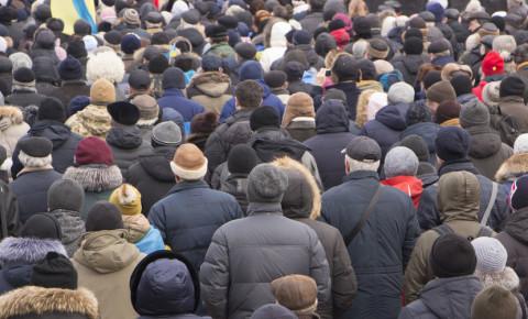 Crowd of people overpopulation 123rf
