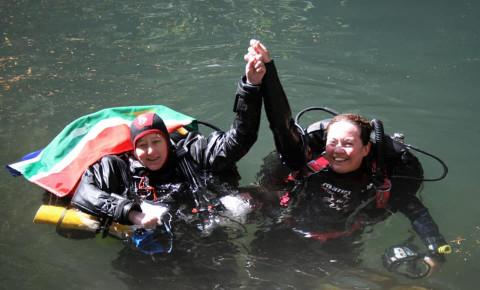Karen van den Oever sets new Women's Deep Cave Diving Record