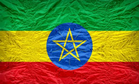 Ethiopian Ethiopia flag 123rf