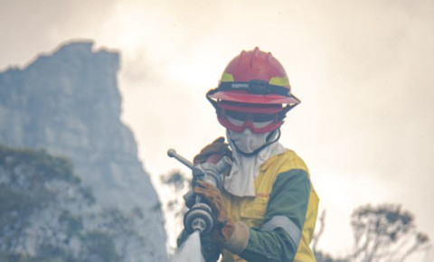 Cape Town firefighter