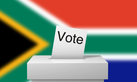 South Africa election vote elections voting South African flag IEC 123rf