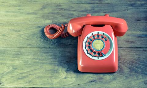 Telkom phone fixed line voice vintage 123rf