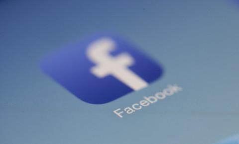 Facebook logo social media platform