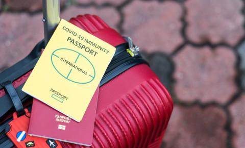 Immunity vaccine passport 123rf