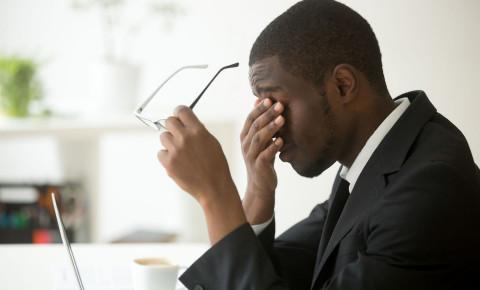 Stressed overworked businessman 123rfbusiness 123rf