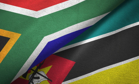 mozambique-south-africa-flags-folded-into-each-otherjpg