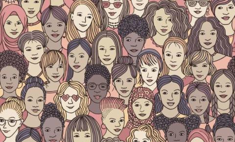 Women females multiracial diverse 123rf