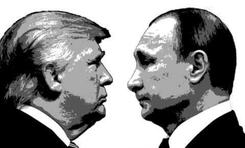 Donald Trump Vladimir Putin 123rf