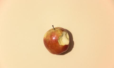 Apple with a bite Unsplash