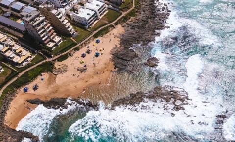 Durban ocean coastline