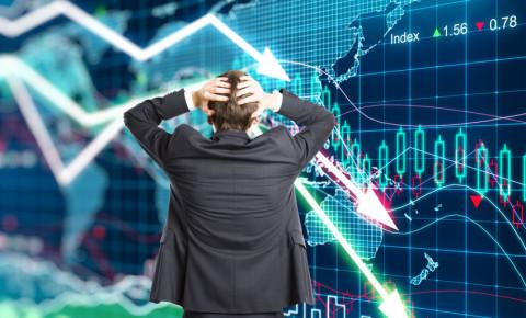 Market crash 123rf