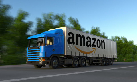 Amazon truck lorry 123rfbusiness 123rf