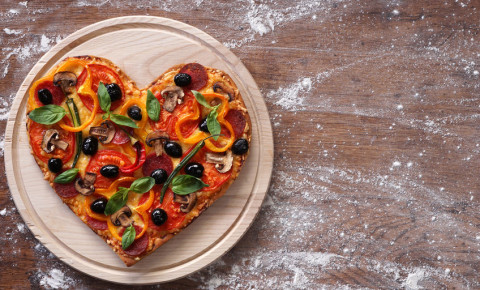 Heartshaped pizza 123rf 123rfbusiness 123rflifestyle