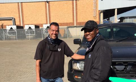 Leo Prinsloo and Lloyd Mthombeni