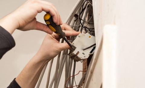 electricity fault meter electrician power handyman renovation construction 123rf