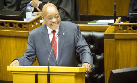 jacob-zuma-laughing-in-parliament-ewn-thomas-holdergif