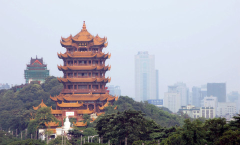 Yellow Crane Tower Wuhan China 123rflifestyle 123rf